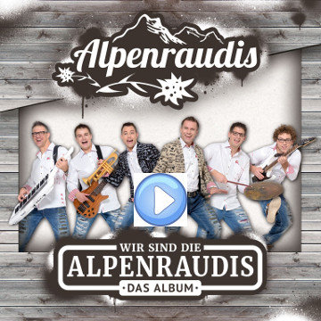 170909 Alpenraudis Album Cover